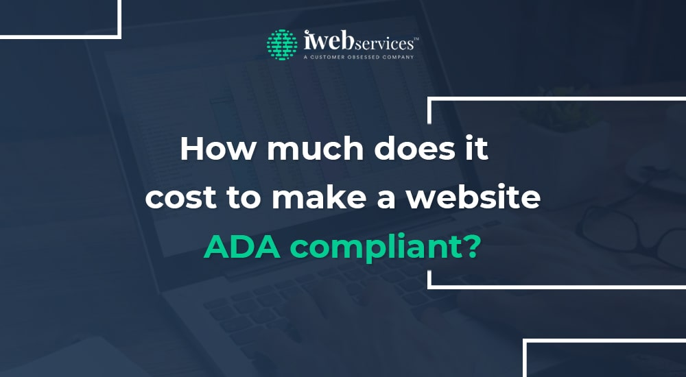 How much does it cost to make a website ADA compliant